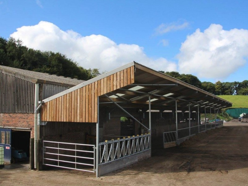 New improved roofing to farm buildings