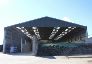 Silage Pit & Feed Store